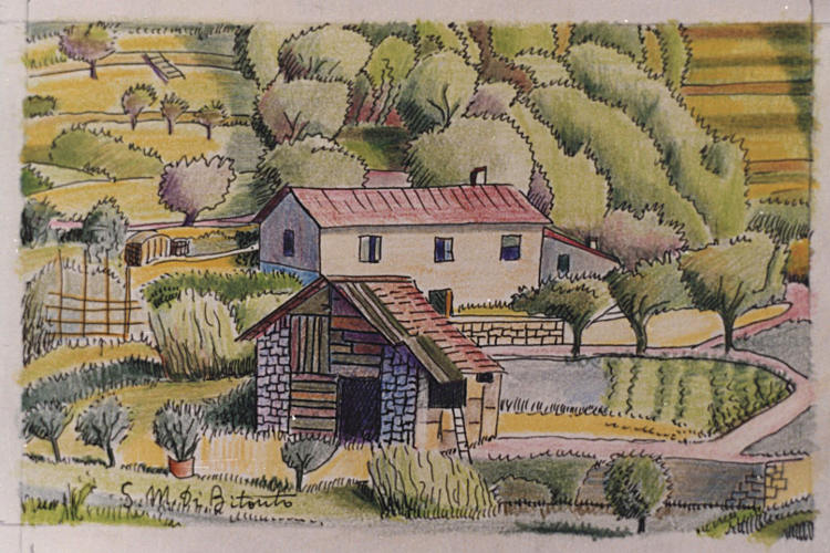 Paesaggi liguri for Disegni di paesaggi colorati