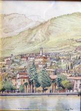 China e matite colorate 'Villavetro di Gargnano'