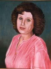 Olio su tela 'Elisabetta Scali'