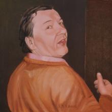 Olio su tela 'Giorgio Di Bitonto'