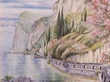 China e matite colorate 'Gardesana occidentale'