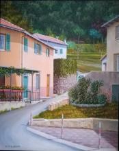 Olio su tela - Donetta di Torriglia (Genova)