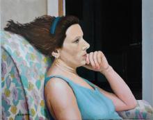 Elisabetta Scali Di Bitonto - moglie dell'artista