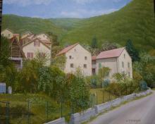 Olio su Tela - Pentema di Torriglia